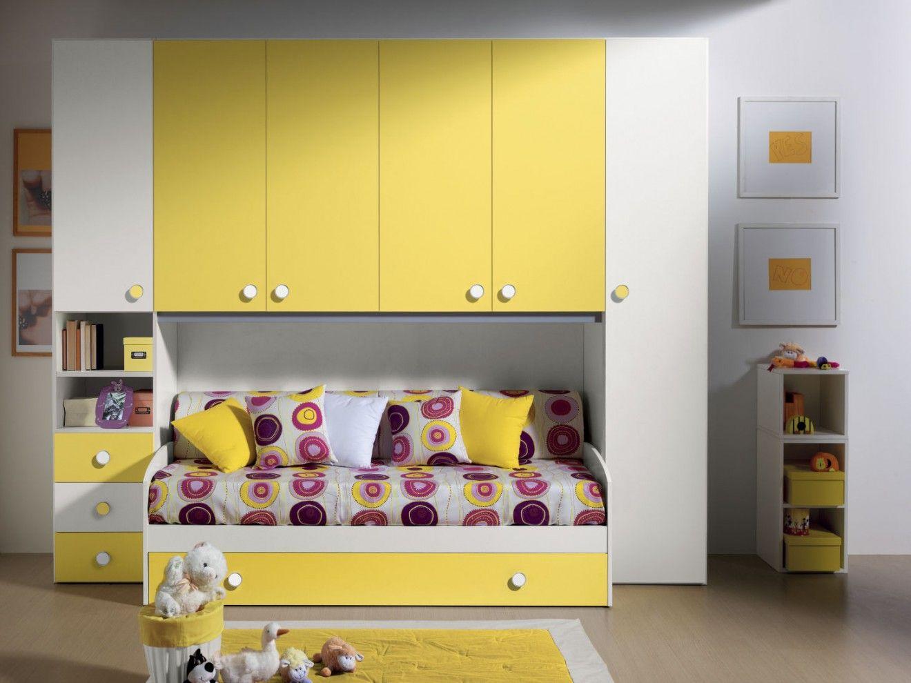 Cameretta a ponte SAMUEL #camerette #furnishing #bedrooms #design ...