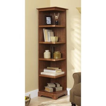 31 Dp 00937 Corner Bookcase Downloadable Woodworking Plan Pdf Bookcase Woodworking Plans Bookcase Plans Corner Bookshelves