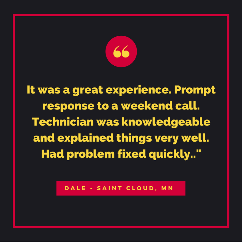We love to hear reviews like this! Thank you, Dale!