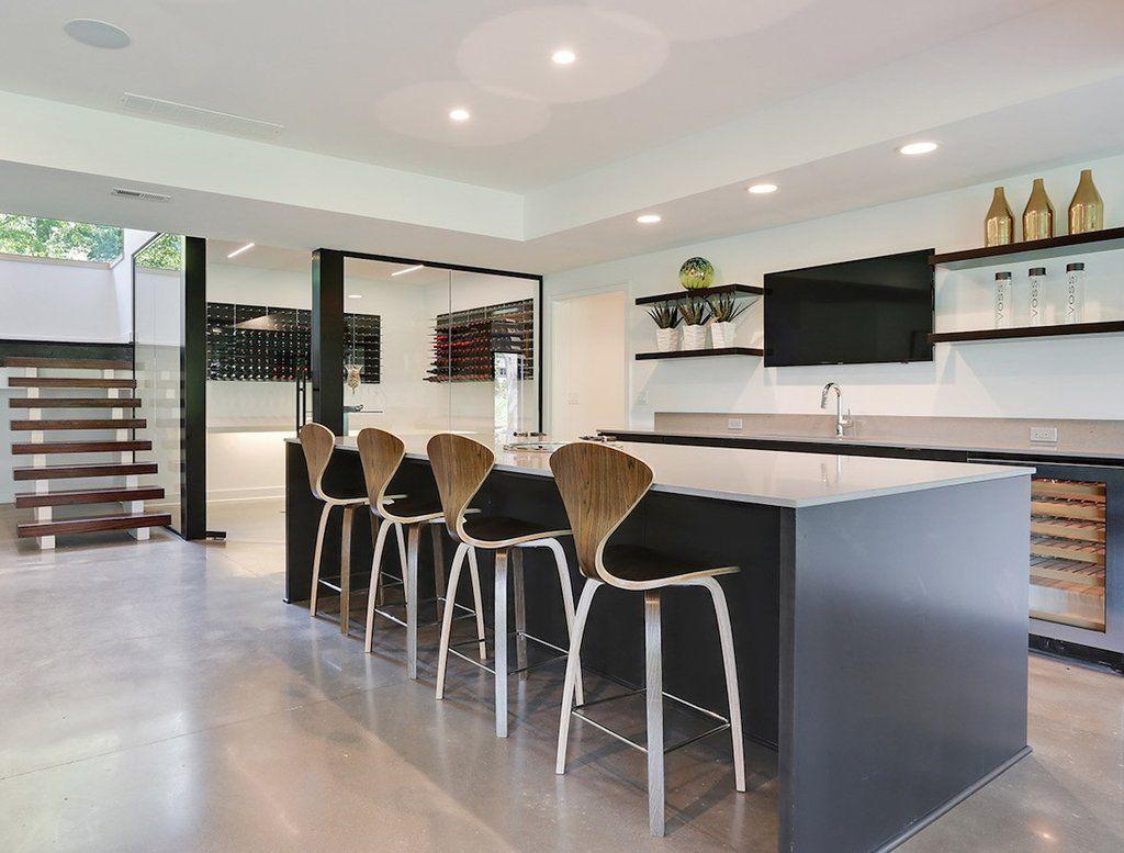 Modern Home Wine Bar Design Home Wine Bar Home Leawood