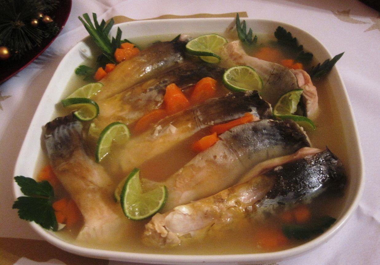 Wigilijny Karp W Galarecie Doradcasmaku Pl Recipe Christmas Cooking Christmas Food Culinary Recipes