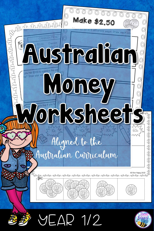 Australian Money Worksheets In