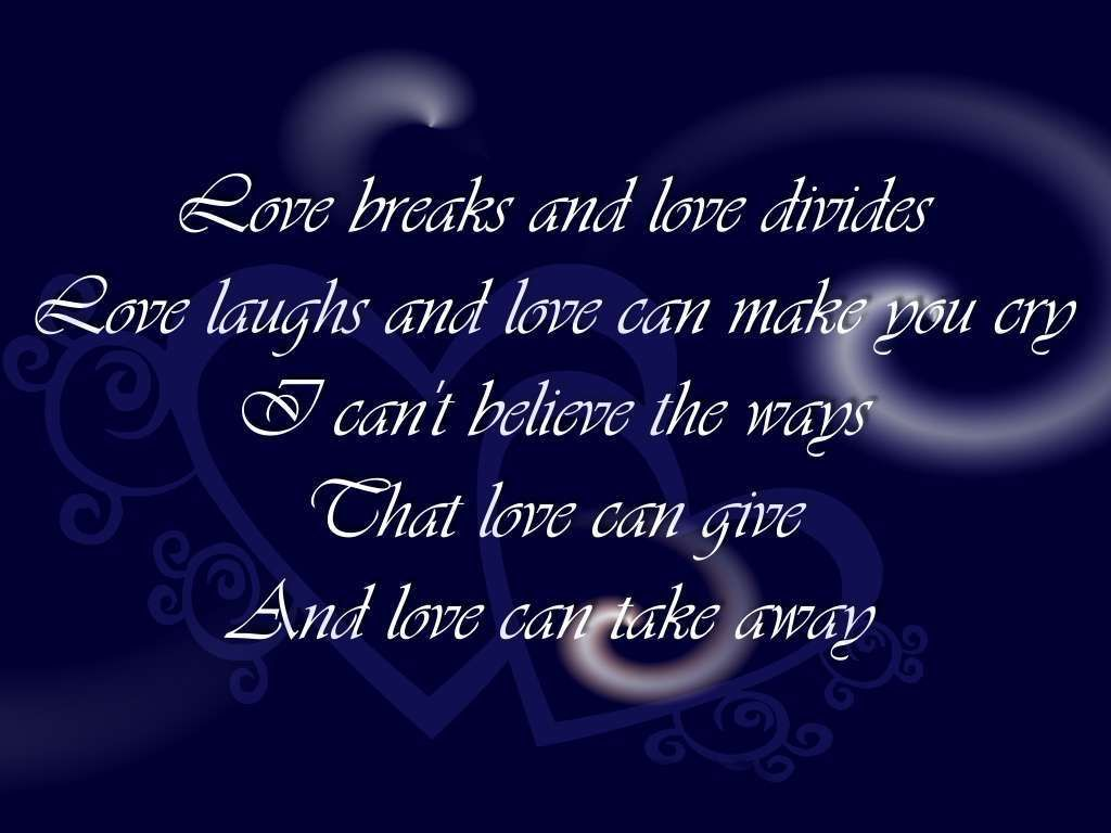 Love Song Quotes Wallpaper Hd Best Wallpaper Wallpapers