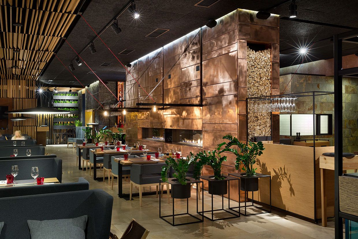 Food \u0026 Forest park restaurant | Restaurant design | Pinterest ...