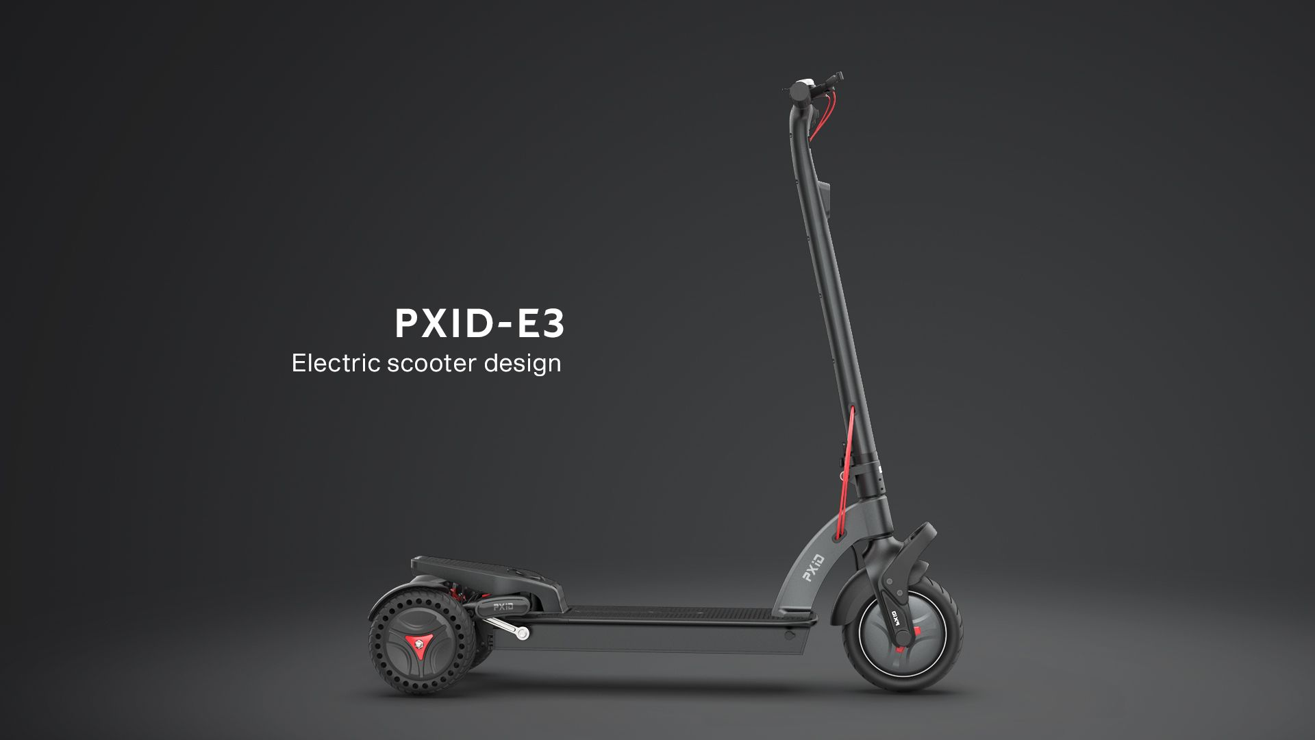 Pxid designed 3 wheels powerful electric scooter scooter