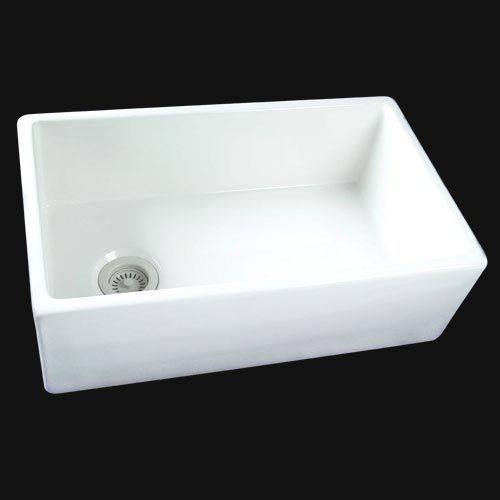 Farmer Sink With Offset Drain Farmhouse Kitchen Sinks And - Offset bathroom sink drain