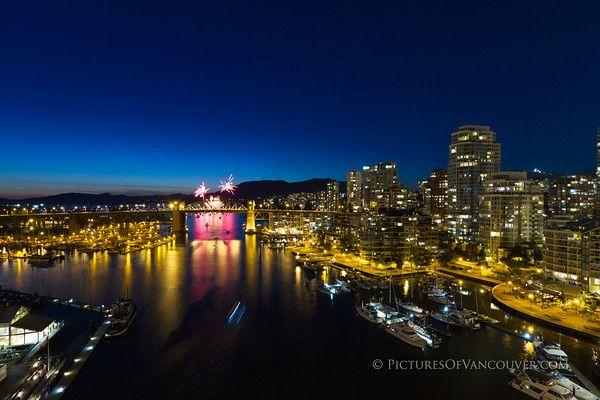 Celebration Of Light Fireworks, Vancouver, BC, Canada
