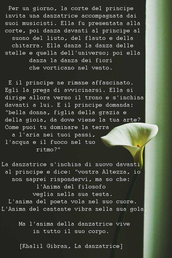 Khalil Gibran La Danzatrice Una Splendida Poesia Sulla
