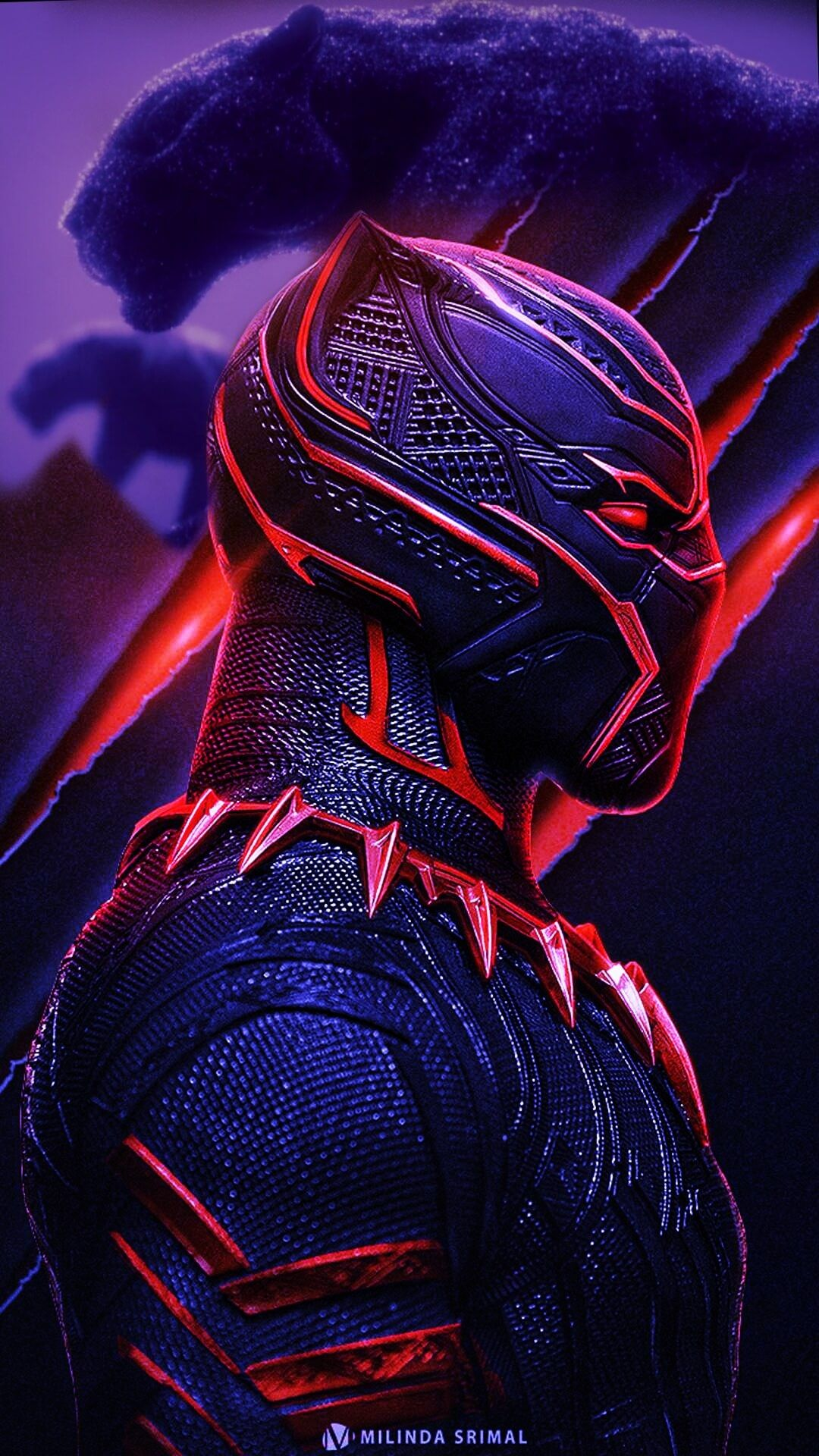 Wallpaper For Iphone 11 Pro Black Panther Marvel Black Panther Art Black Panther Hd Wallpaper