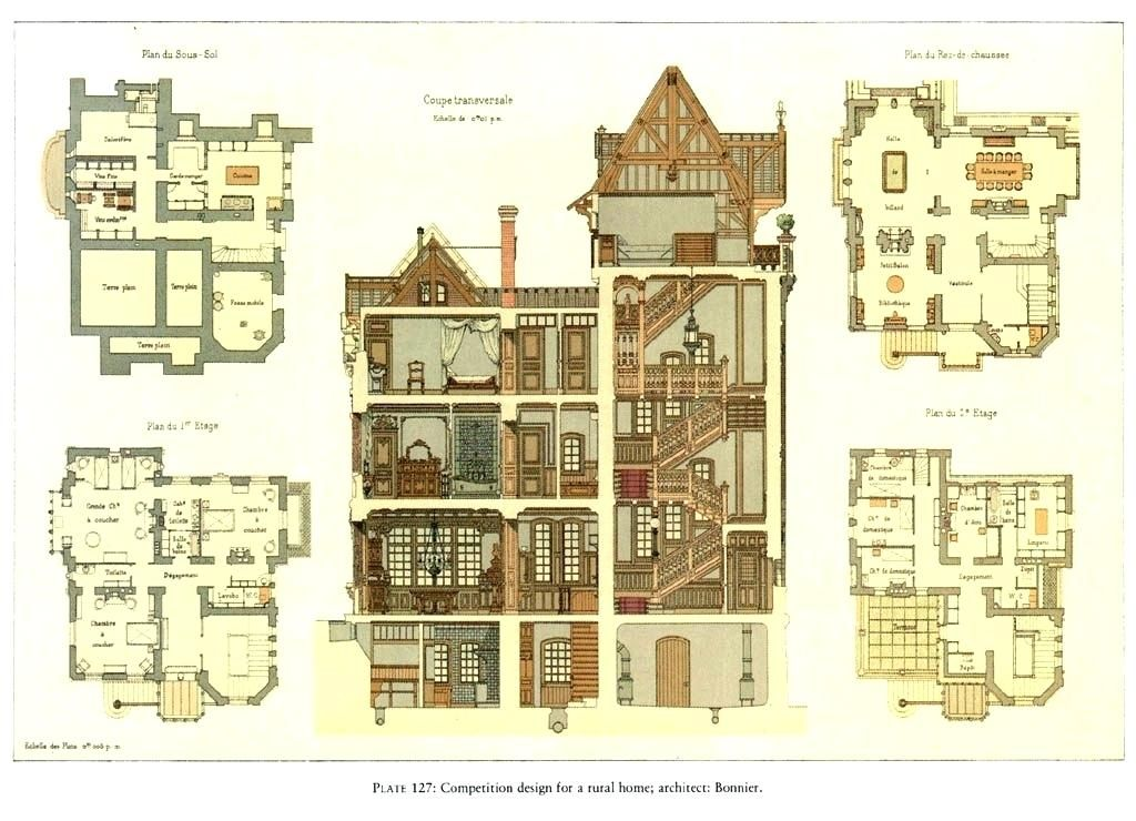 Luxury Victorian House Floor Plans For Historic Mansion Floor Plans Elegant House Floor Plans 16 San F Victorian House Plans House Plans Uk Old Victorian Homes