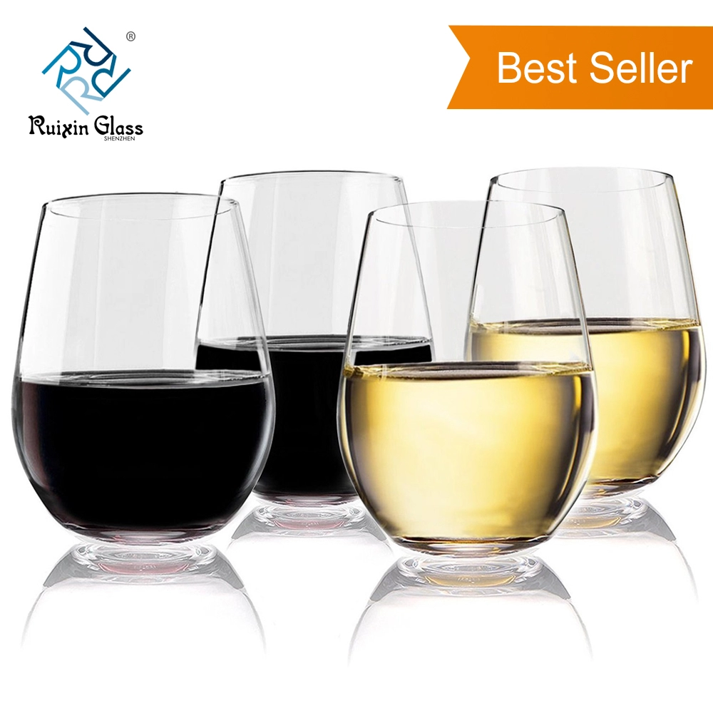 Premium Mouth Blown Personalized Shatterproof Stemless Wine Glasses View Cheap Wine Glasses Wholesale Glasses Ruixinglass Product Details From Shenzhen Ruixin