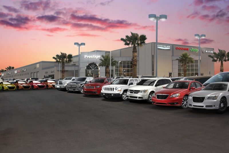 Once Again Truck Sales Are Up While Car Sales Go Down Chrysler