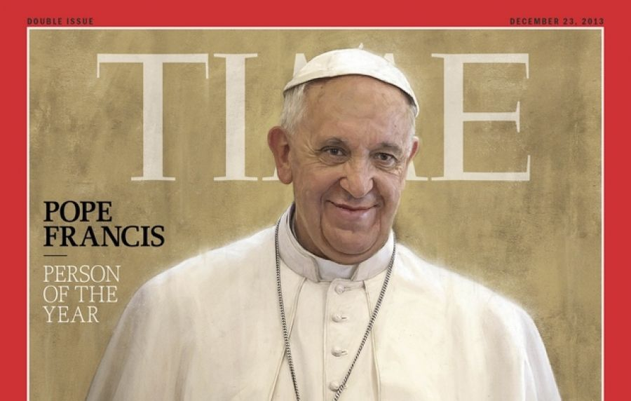 Pope Francis:  Time magazine's Person of the Year #CatholicSAM.com