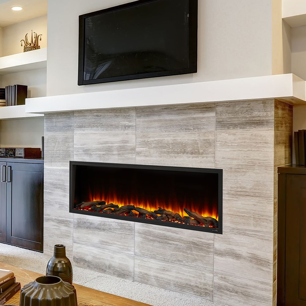 Simplifire 55 In Scion Linear Electric Fireplace In 2020