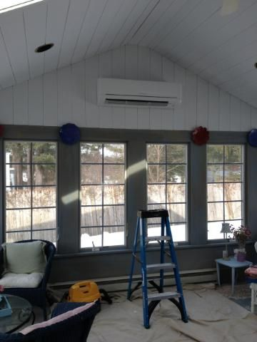 Netr Inc Installed A Mitsubishi Ductless Heatpump In This 3