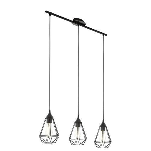 Schlafzimmer Hänge Lampe: Linear-Pendelleuchte 3-flammig Chaim