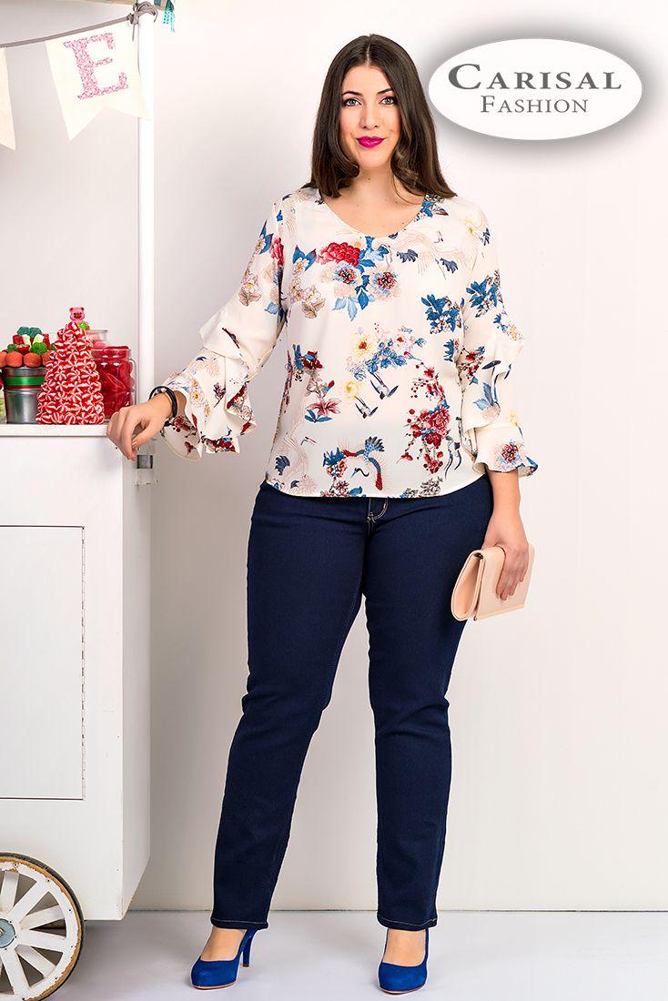 Resultado De Imagen Para Blusas Tallas Grandes Looks Lindos Vestidos Looks