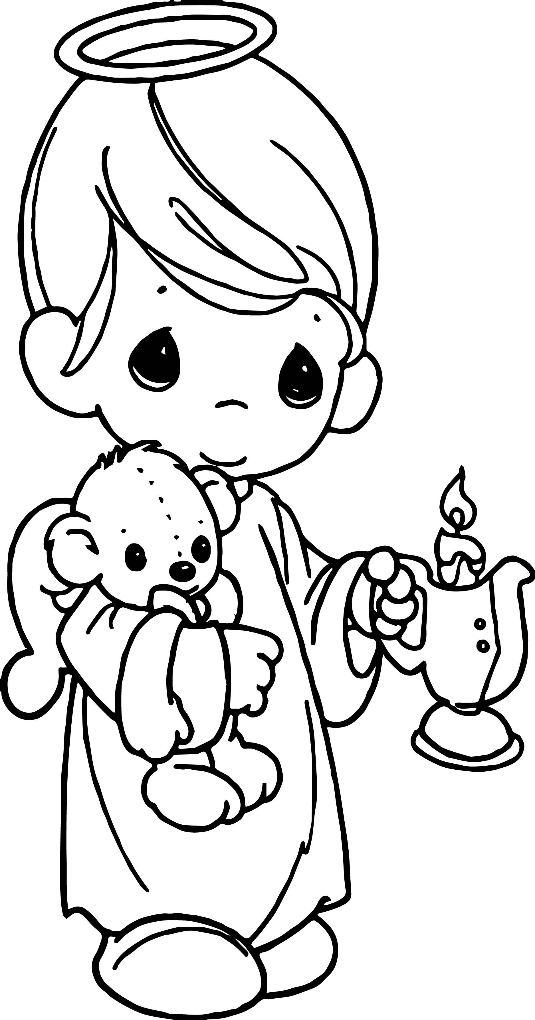 Precious Moments Coloring Page 08 26