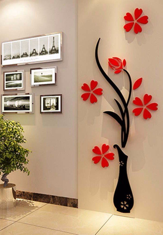 Perfect A 3D Flower Tree That Offers The Cutest Wall Decoration Ever.