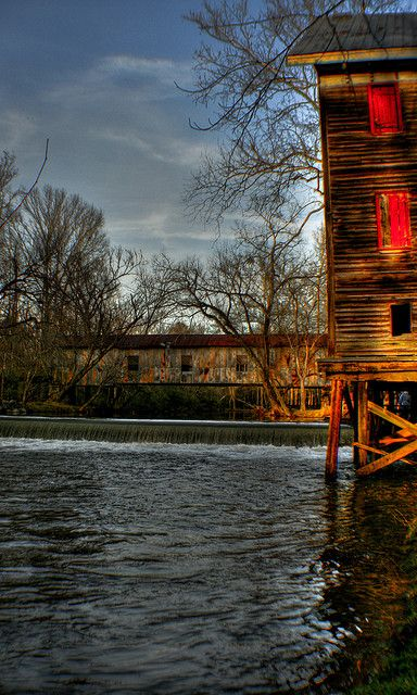 Kymulga Mill and Bridge - Talladega County, Alabama