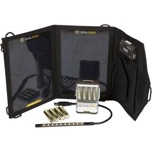 GOAL ZERO® Portable Solar Power Essentials Kit