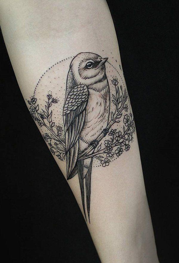 110 Lovely Bird Tattoo Designs Owls And Birds Pinterest