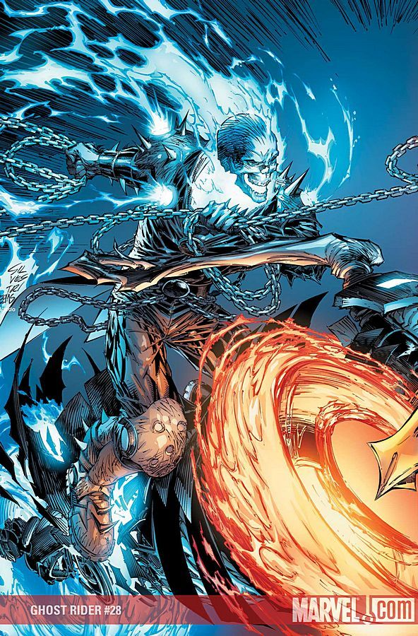 Ghost Rider 28 Comic Art Work By Marc Silvestri Comics Comicart Marcsilvestri Silvestri Ghost Rider Marvel Ghost Rider Ghost
