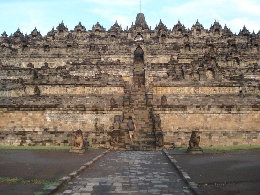 Een hoogtepunt tijdens uw rondreis over Java, de Borobudur