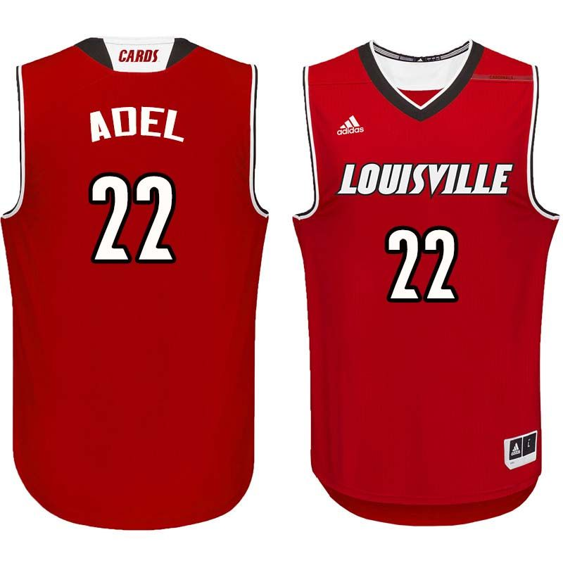 e4bcac4f4258 Men  22 Deng Adel Lousiville Cardinals College Basketball Jerseys Sale-Red