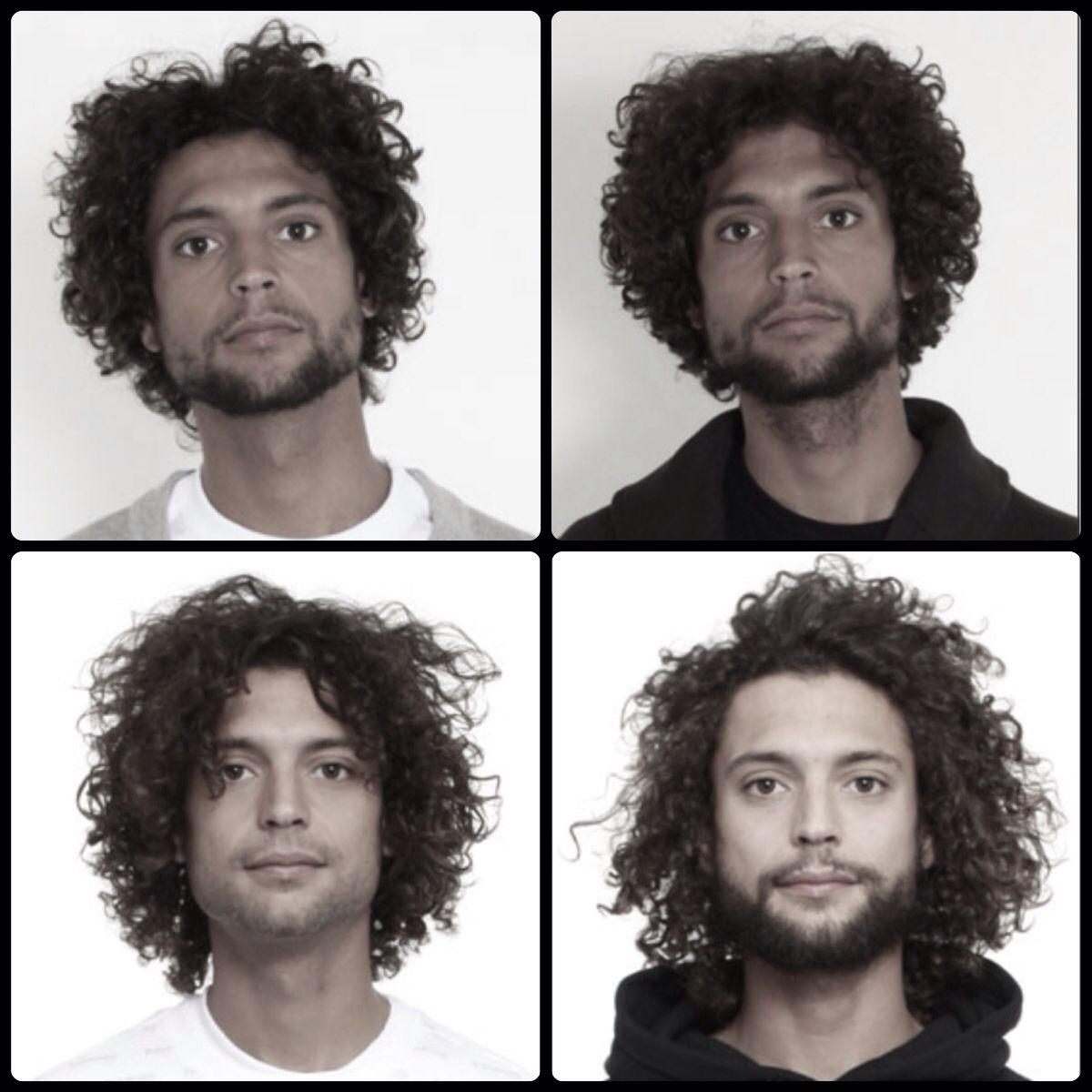 Growing Out Stages Type 3b Curl Men S Curling 3c Hair Curls