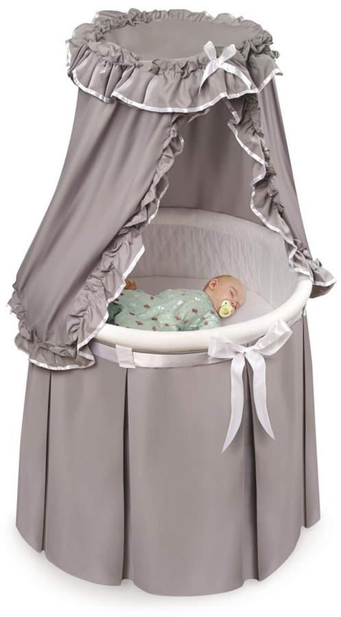 Badger Basket Empress Round Baby, Badger Basket Round Bassinet Bedding
