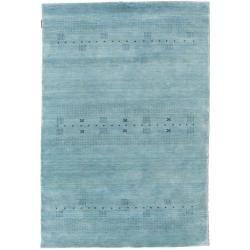 Photo of Loribaf Loom Eta – hellblau Teppich 140×200 Moderner Teppich