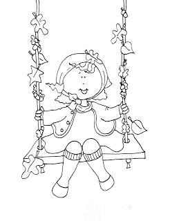 Free Dearie Dolls Digi Stamps | Craft & Embroidery Patterns | Digi