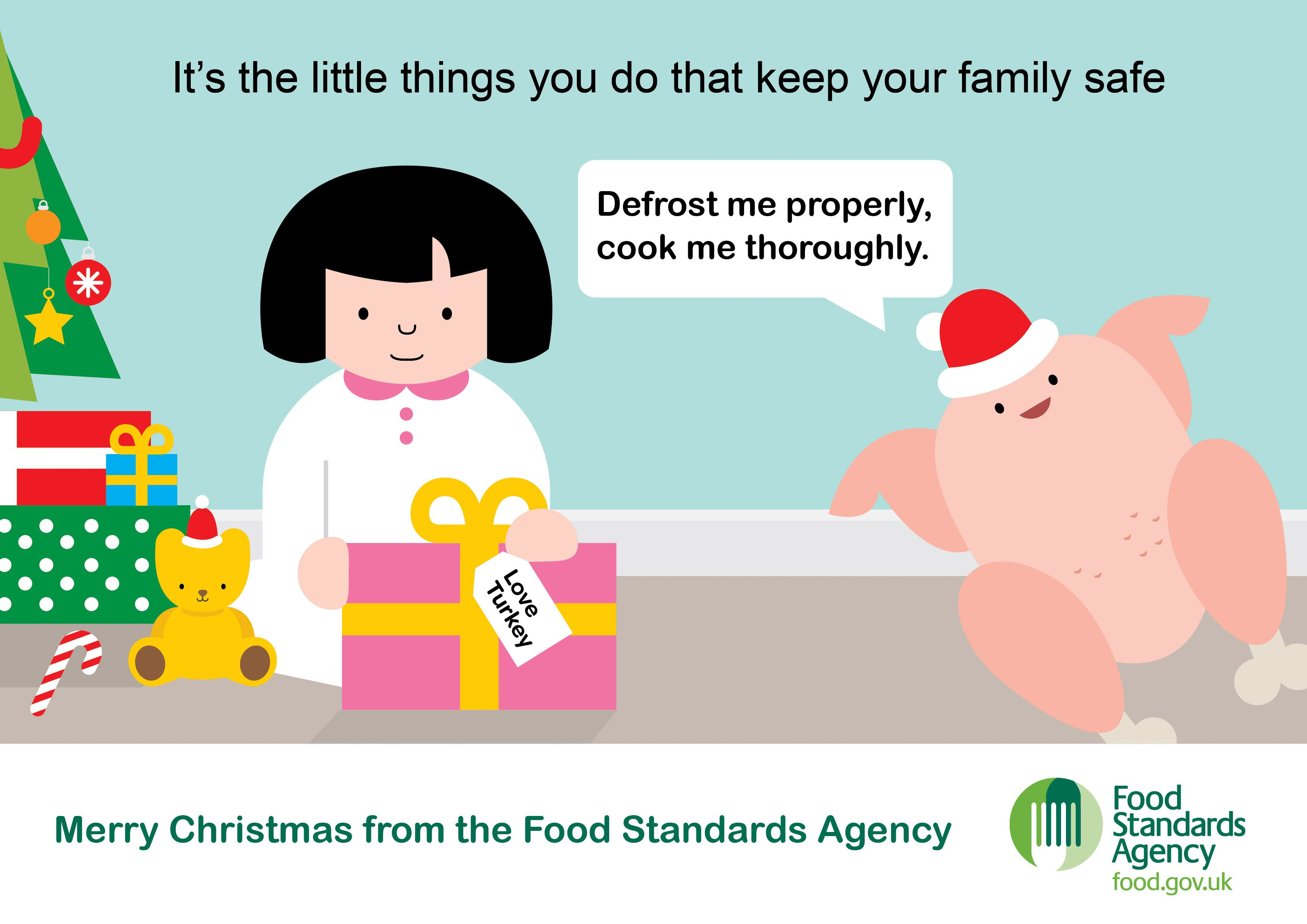 Merry christmas from the food standards agency food safety merry christmas from the food standards agency forumfinder Image collections
