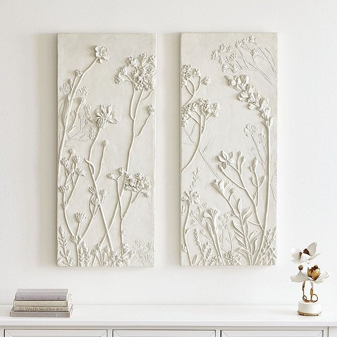 Soft Meadows Relief Plaques Set of 2 in 2020 | Ballard ...