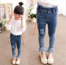 2b34166bcca6 Resultado de imagen para pantalones jeans para ninas | MODA NIÑOS en ...