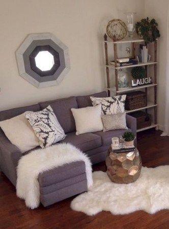 Gemütliche kleine Wohnung Dekorationsideen mit kleinem Budget (58)#budget #dekorationsideen #gemütliche #kleine #kleinem #mit #wohnung