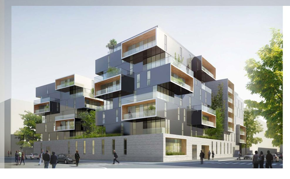 Paris Housing Competition Rendering Facade Architecture Design Hotel Architecture Architecture House