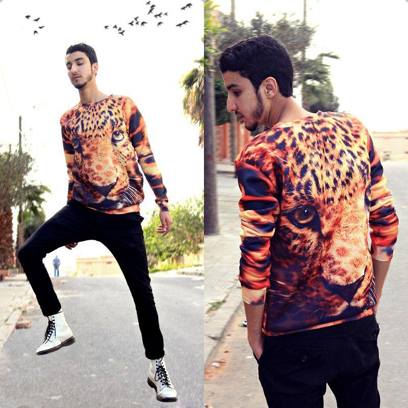 Fierce Leopard! http://shelfies.com/products/fierce-leopard-sweater