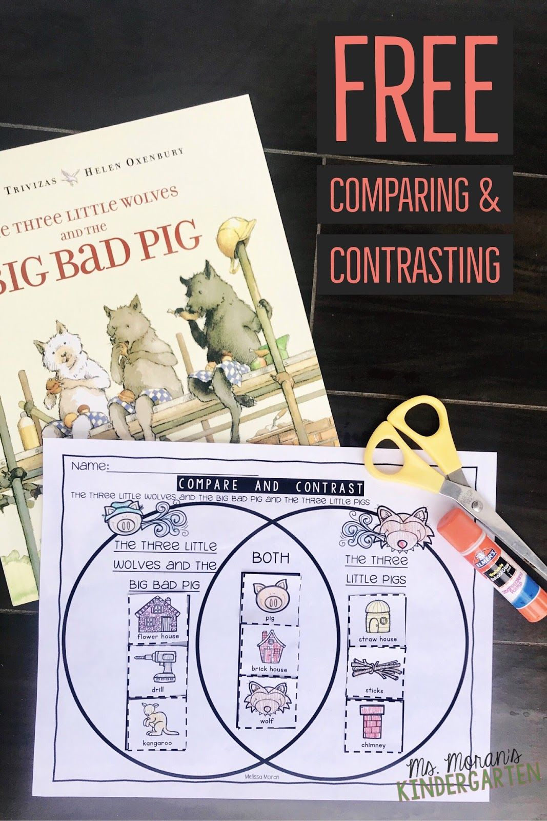 Pin About Three Little Pigs And First Grade Reading