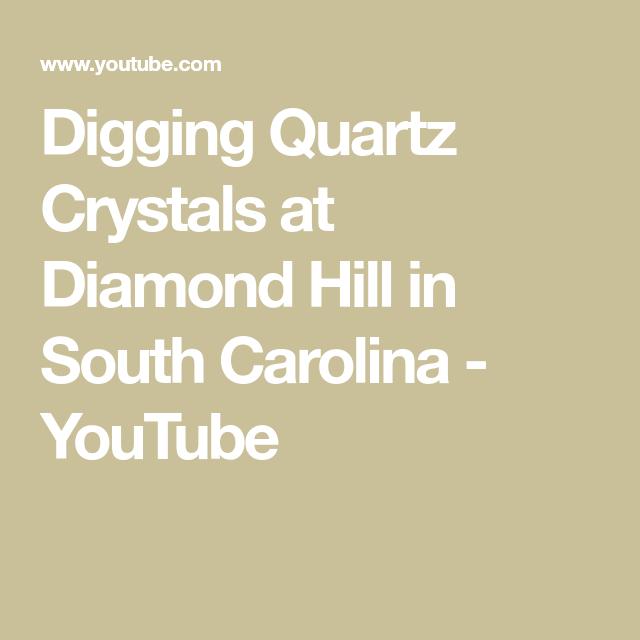 Digging Quartz Crystals at Diamond Hill in South Carolina