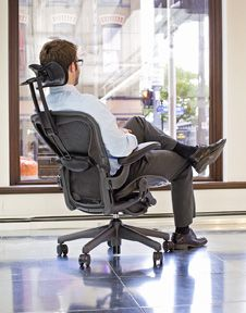 Atlas Headrest For The Herman Miller Aeron Chair How Do You Enhance An Icon Aeron Aeron Chairs Chair