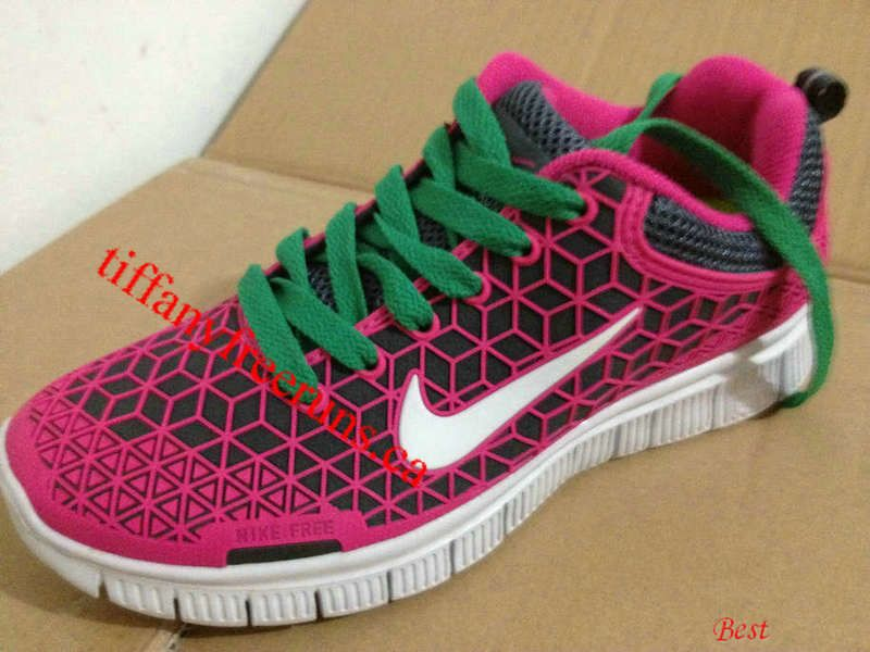 official photos 6f029 ac28a Womens Nike Free 6.0 Rose Pink White New Green Lace Shoes