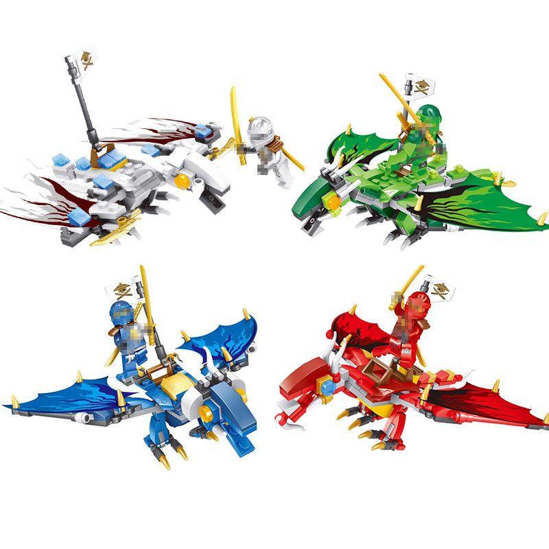Lego ninjago dragon building block ninja toys compatible with children unbranded action - Dragon ninjago lego ...