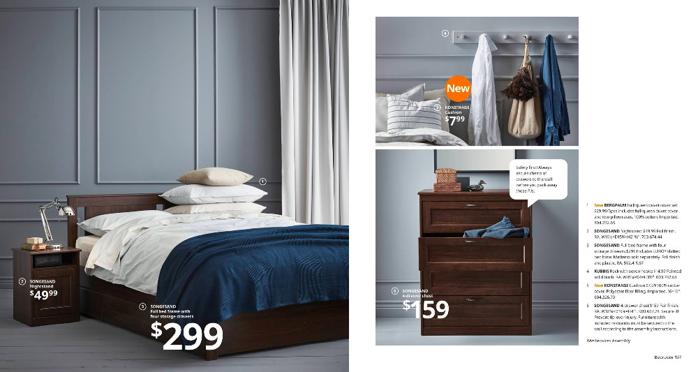 The Color Palette Of The Bedroom Ikea Catalog Ikea Bedroom Design Ikea Bedroom Furniture