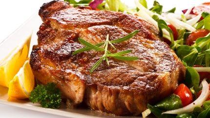 طريقة عمل ستيك لحم مشوي Recipe Lamb Leg Steak Recipe Lamb Steaks Lamb Steak Recipes