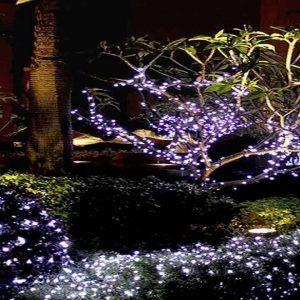 Solar Led String Lights Outdoor Solar Powered 100 Led String Fairy Lights Outdoor Party  Http