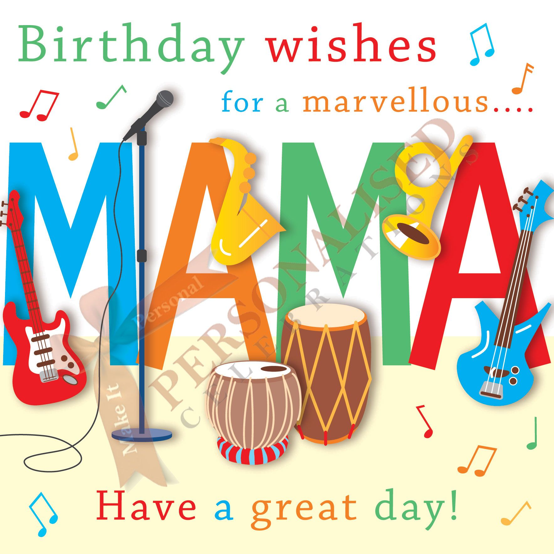 Mama Card Buy this card online only £1 99 at