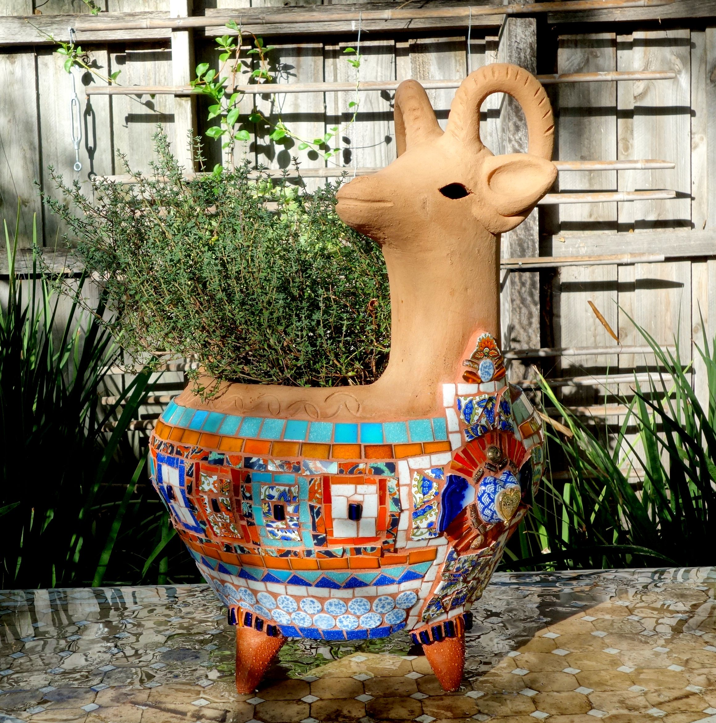 talavera mexican garden flower pottery authentic bowl pin ceramic planters planter plant pot