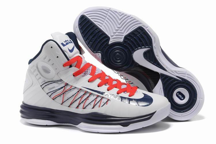 Cheap Nike 2013 Womens Lunar Hyperdunk White Obsidian University Red  Basketball Shoes For Sale